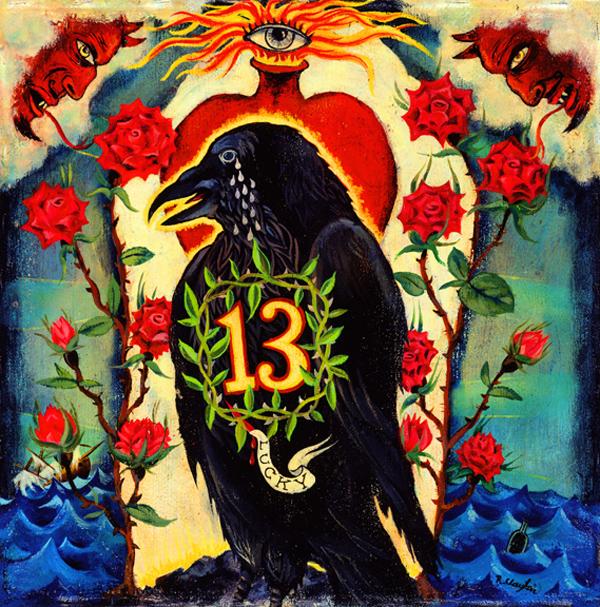 The 13 Tears of the Wayward Crow